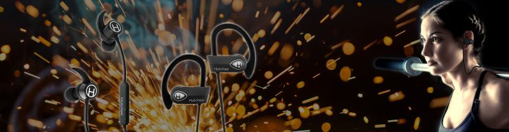 Hutchee Bluetooth Headphones for Running